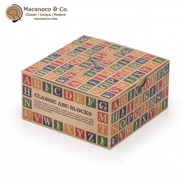 CLA28 Uncle Goose Classic ABC Blocks 4