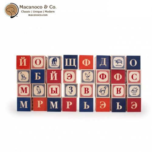RUS32 Uncle Goose Russian ABC Blocks 3