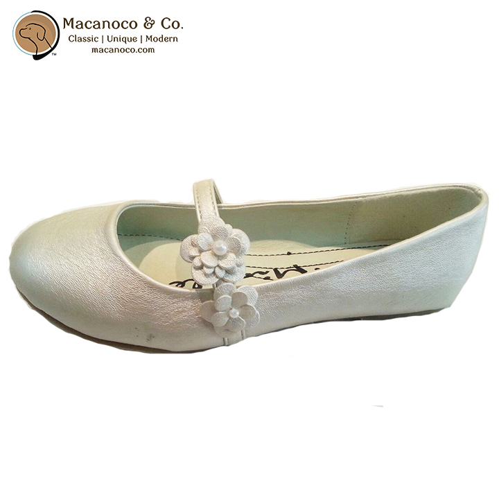 10121 Beca Flats Shoe Bone Side 1