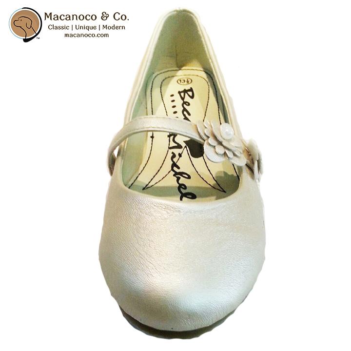 10121 Beca Flats Shoe Bone Side 2