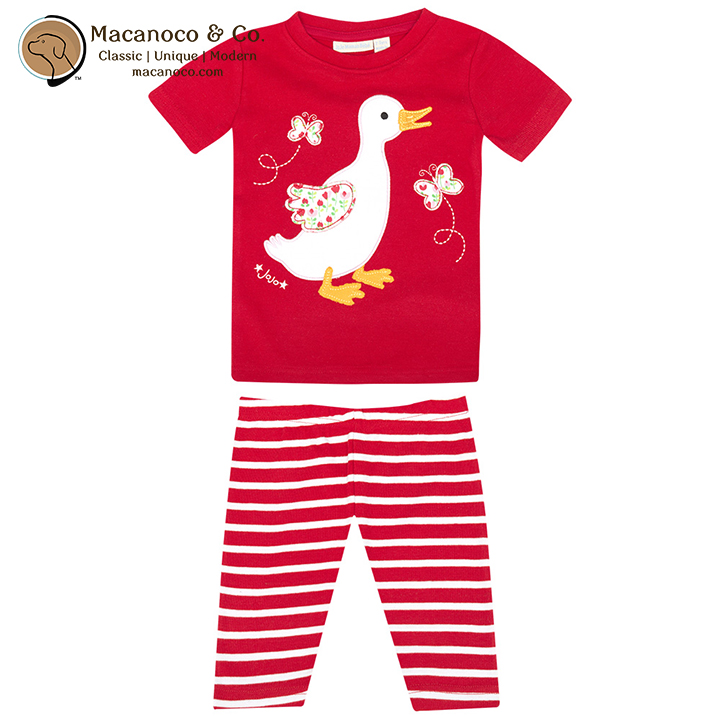 25ca8bf32dd35 Jojo Maman Bebe Girl s Duck Slim Fit Pajamas - Macanoco and Co.