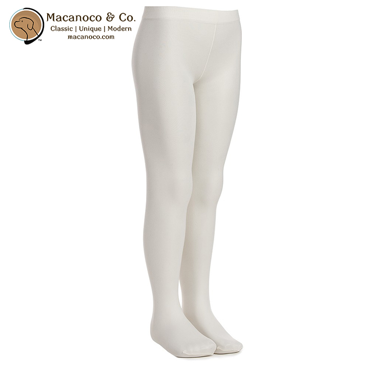 ddcb5a6f37e Microfibre Opaque Tights Ivory - Macanoco and Co.