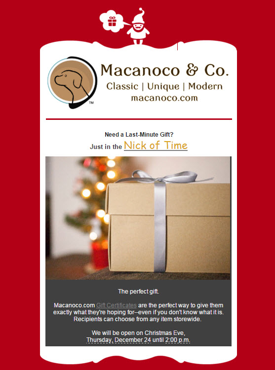 , Need a Last-Minute Gift?