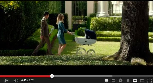 Our Inglesina Classica Pram Stroller is a movie star!, Our Inglesina Classica Pram Stroller is a movie star!