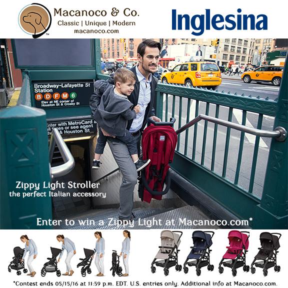 Inglesina Zippy Light Stroller Giveaway, Inglesina Zippy Light Stroller Giveaway
