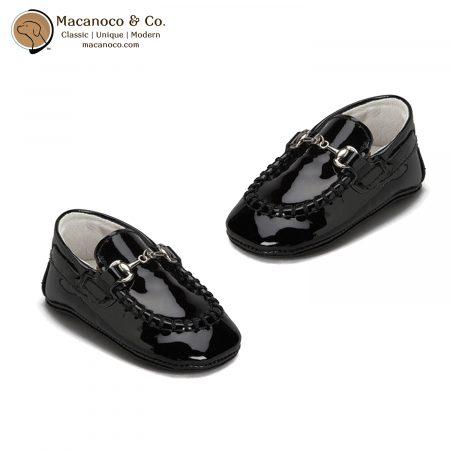 1071012 Trumfit Moccasins Buckle Black Patent 2