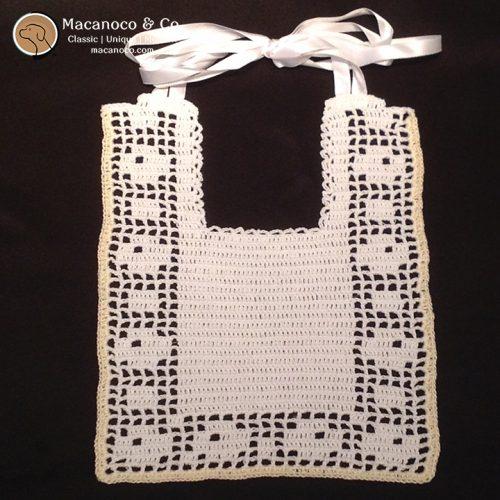 1635-crochet-bib-square-white-and-yellow-trim-w-logo