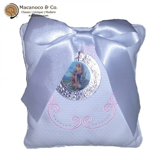 medallion-pique-pillow-guadian-angel-pink-w-logo