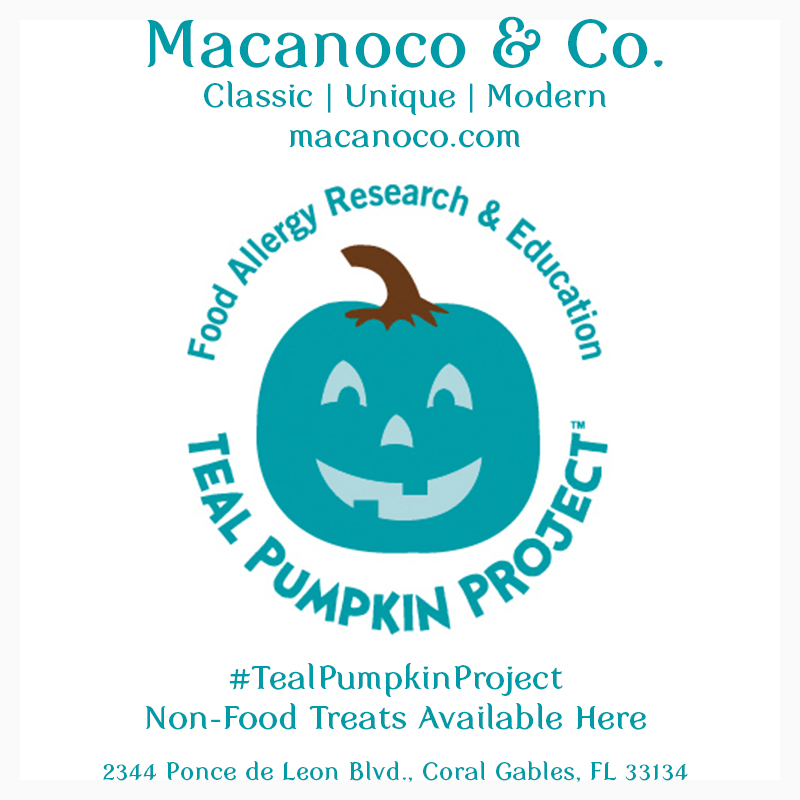 , 2016 South Florida Teal Pumpkin Project Trick-or-Treat Stop