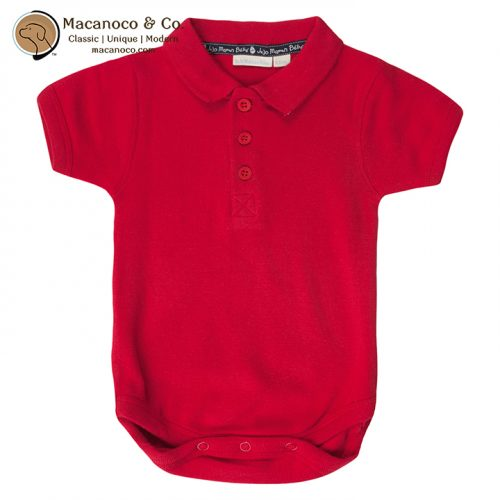 b2822-red-polo-bodysuit-red