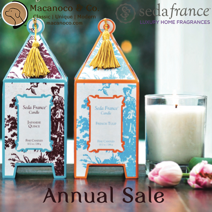 Seda France Candles and Soaps 2016 Annual Sale, Seda France Candles and Soaps 2016 Annual Sale
