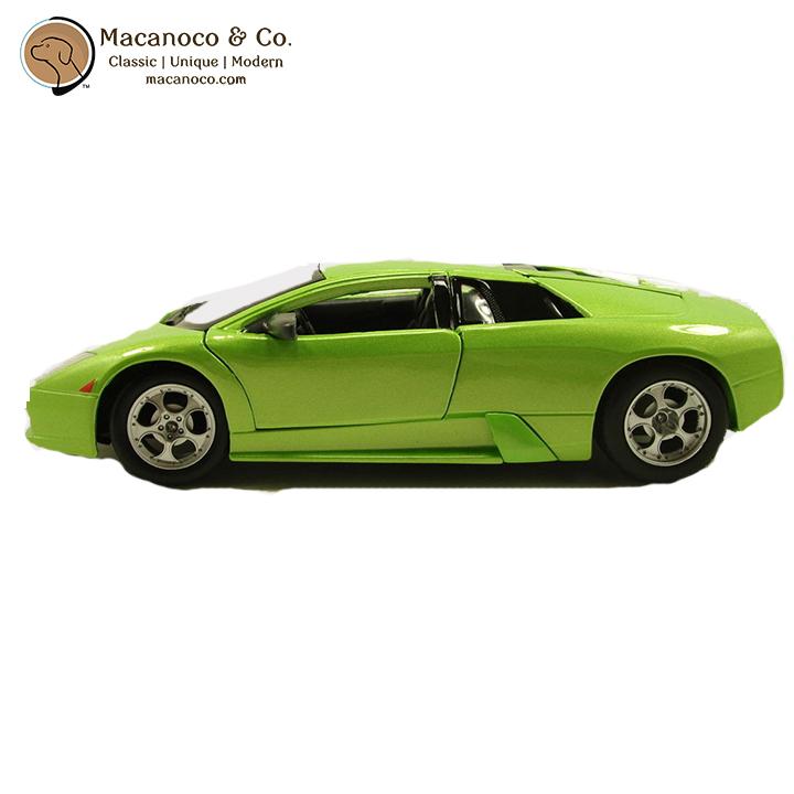 Maisto Yellow Smart Fortwo Open Door Diecast Metal Car: Lamborghini Murcielago LP 640 1:36 Scale Die Cast Toy Car