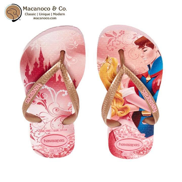 34353951bec96a Kids Disney Slim Princess Sandal Flip Flop Sleeping Beauty Aurora. Havaianas