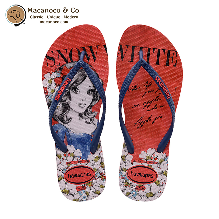 e22bb6664c507 Disney Slim Princesas Sandal Flip Flop Ruby Red (Snow White ...