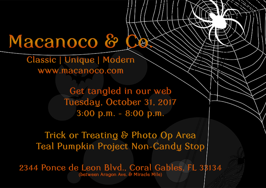Join us and Get Tangle in Our Web on Halloween Night, Join us and Get Tangle in Our Web on Halloween Night