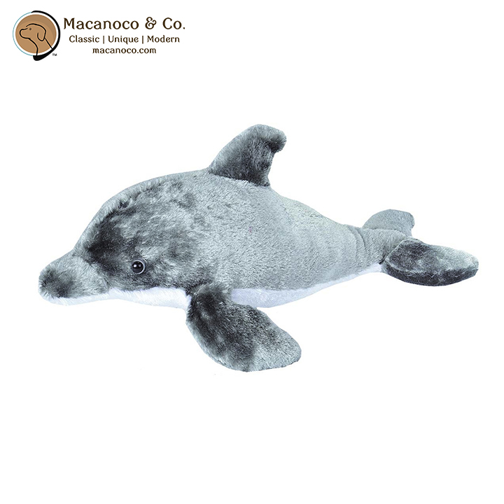 Dolphin Large Stuffed Animal Plush 17 Inches Macanoco And Co
