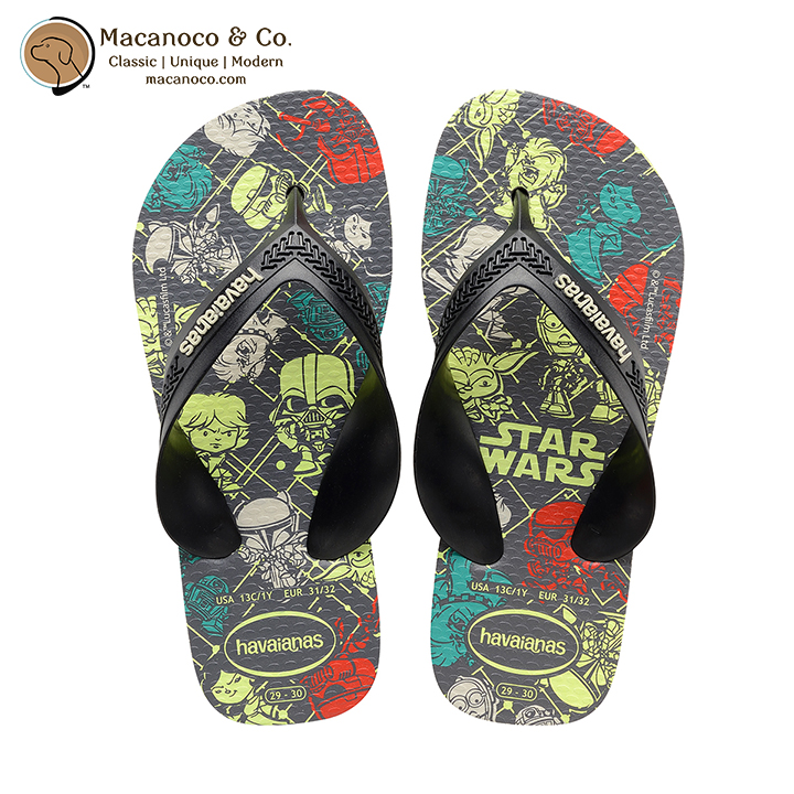 eb2d070b5aeee Kids Max Star Wars Sandal Flip Flop Black Black Red - Macanoco and Co.