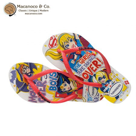 4140086-0001 Kids DC Super Hero Girls White