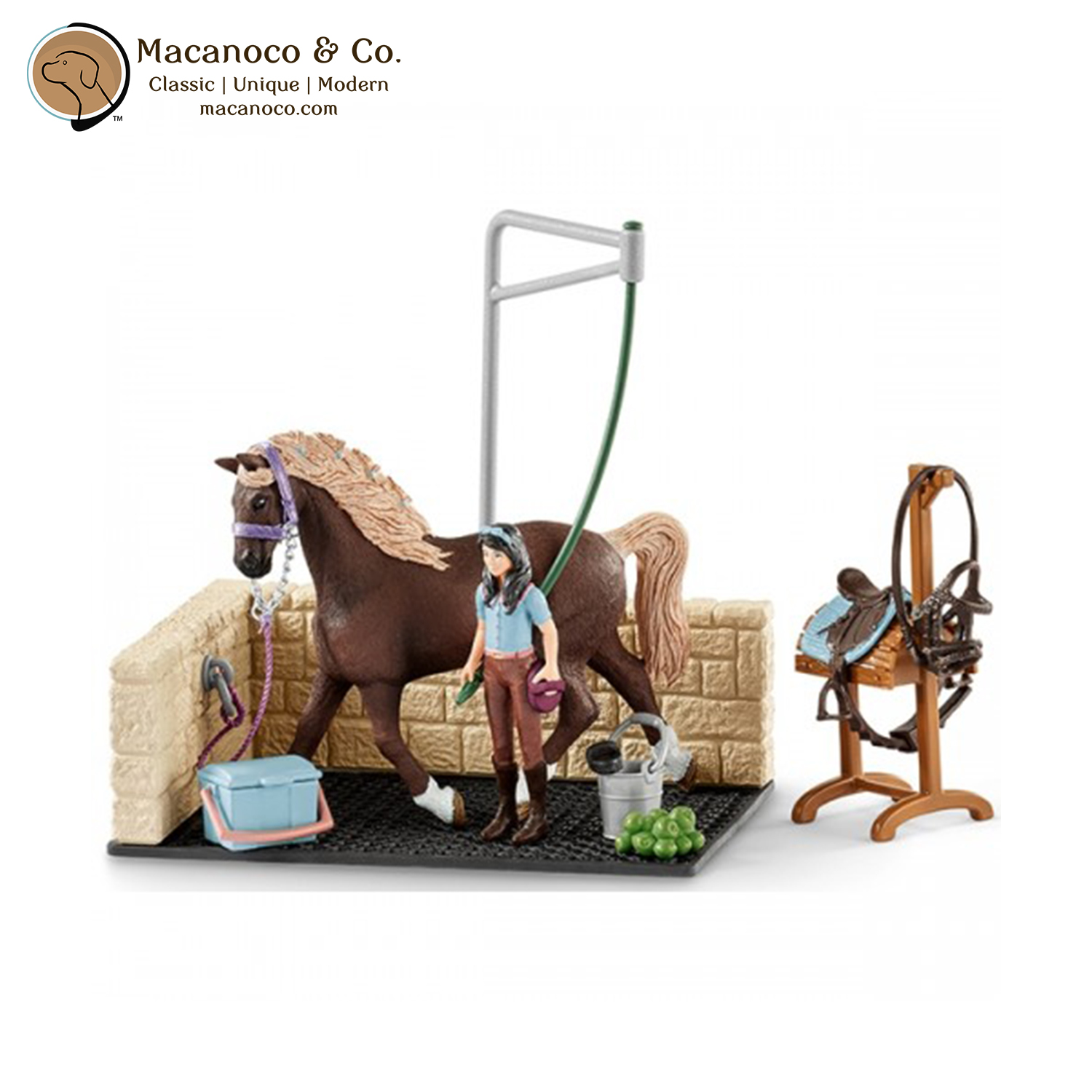 Washing Area with Horse Club Emily and Luna Horse Toy Figurines ... 37dd80ca04