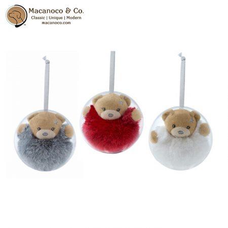K960025 Mini Christmas Chubby Bear 1