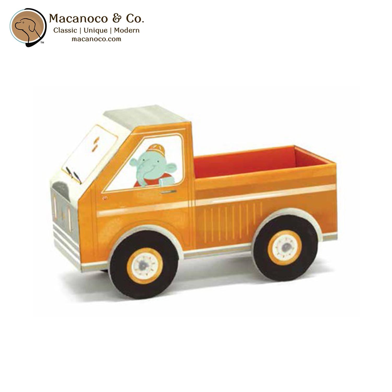 Krooom Fold My Car Bucky Elephant Truck 3 D Building Toy Macanoco And Co