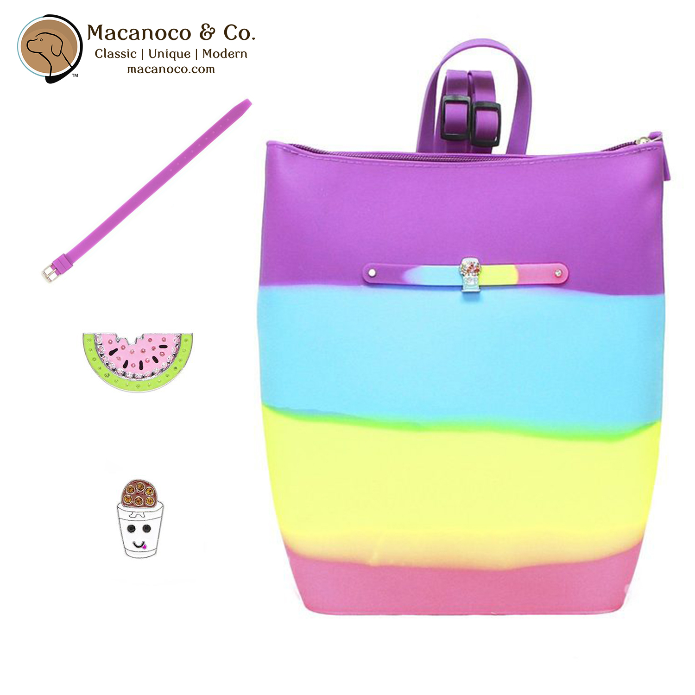 d368738bbe Yummy Gummy Scented Bucket Zipper Backpack Bag with Bonus Bracelet ...