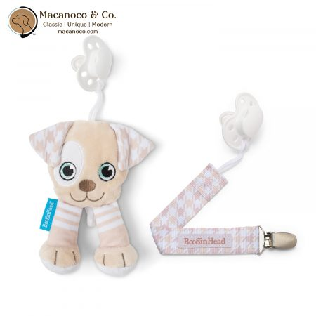 PPC-Puppy PLUSH PACIPAL 2 PIECE SET PATCHES THE PUPPY