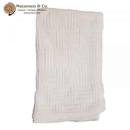 1717 Chenille Knit Blanket 1