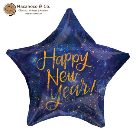 3886101 Happy New Year Holographic Star 1