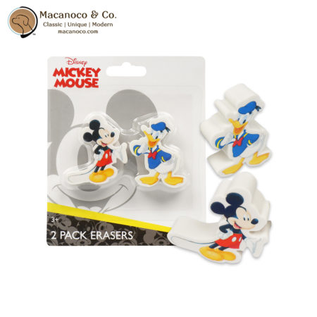 705569MIC Disney Mickey Mouse 2 Pack Erasers 1
