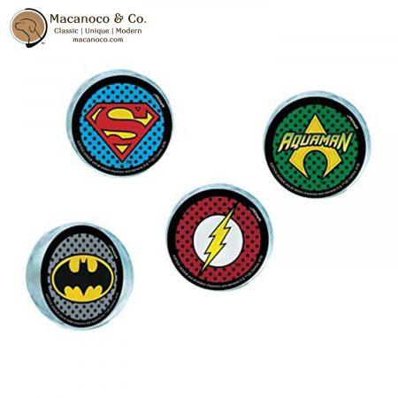 3901571 DC Comics Justice League 4-Piece Bounce Balls 1