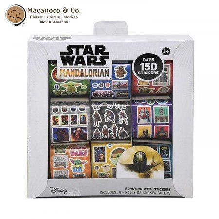 707294MD Disney Star Wars The Mandalorian Box of 9 Sticker Rolls 1
