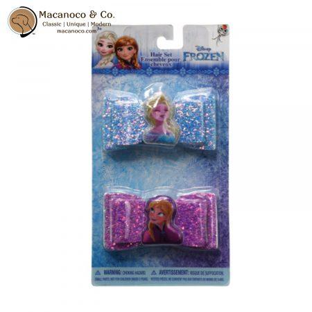 FZ1161SA Disney Frozen Glitter French Clip Bow Set 1