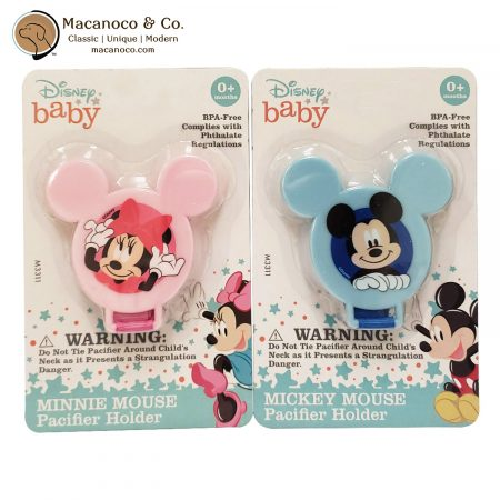 M3311 Disney Baby Mickey & Minnie Mouse Pacifier Clip 1
