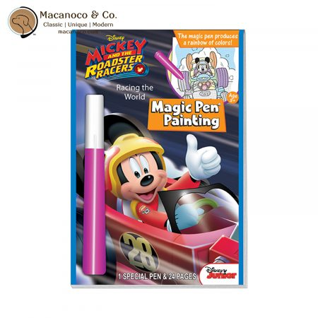 WDMP-RR Disney Junior Mickey and the Roadster Racers Racing the World Magic Pen Painting Book 1