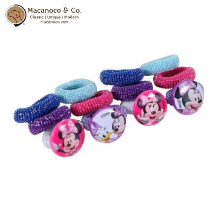 MB1346GA Disney Minnie Licensed Character Hair Ties 1